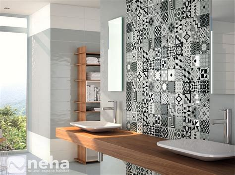 faience cuisine et blanc délicieux modele de faience de salle de bain 4 salle de