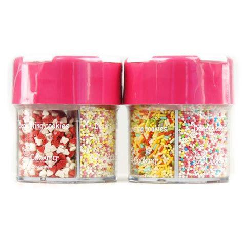 decoration sucre pour gateau distributeur minisucres d 233 cor g 226 teaux coeurs billes vermicelles scrapcooking