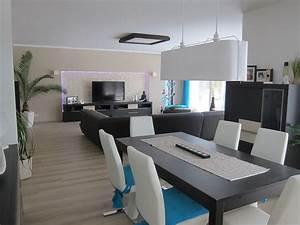 Küche Und Esszimmer : wohnzimmer 39 wohn esszimmer k che in neuem glanz 39 unser traum vom haus zimmerschau ~ Markanthonyermac.com Haus und Dekorationen