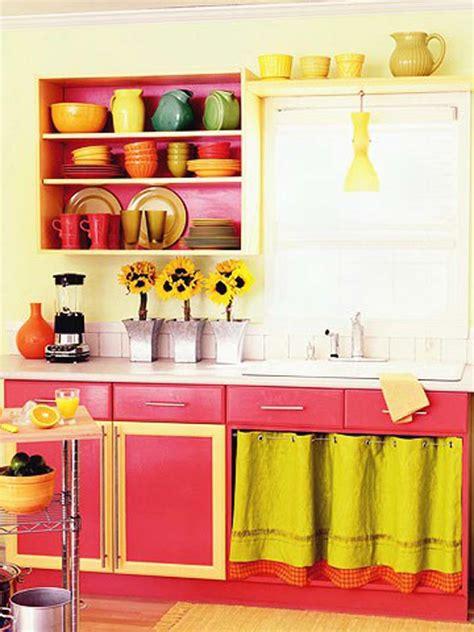 bright kitchen color ideas arm 225 de cozinha colorido inspira 231 245 es e dicas para 4910