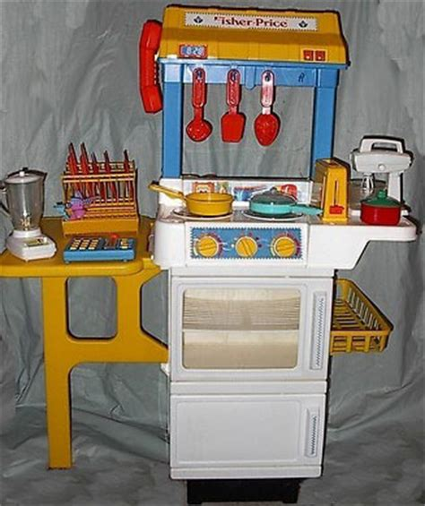 fisher price play kitchen this s fisher price with food quot base