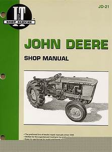 John Deere 1010 2010 Service Shop Repair Manual