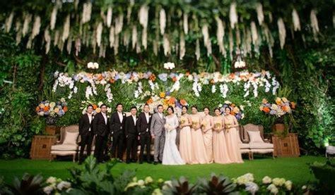 dekorasi garden party   ruangan nggak