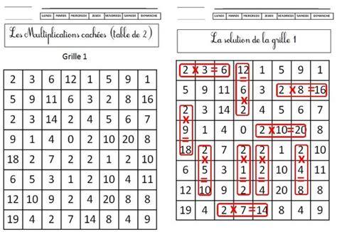 ce1 les multiplications cach 233 es tables 2 3 4 5 de monsieur mathieu ndl math