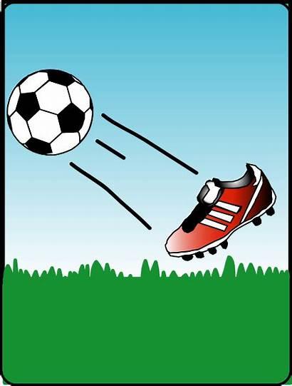Clip Clipart Svg Soccerball Clker Vector Cliparts