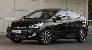 Hyundai Accent Hatchback Black