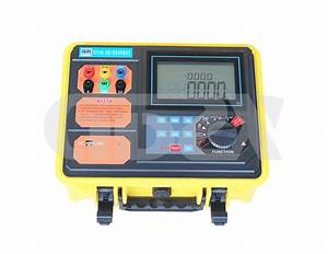 Zxet3008 Double Clamp Ground Resistance Tester