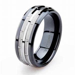 Unique tungsten mens wedding bands wedding and bridal for Unique tungsten wedding rings