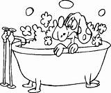 Coloring Bath Bubble Pages Bubbles Getdrawings sketch template