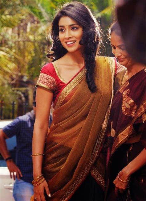 shriya saran latest saree  latest  updates