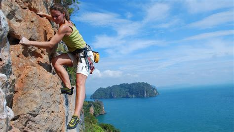 Rock Climb Thailand Mountain Skills Climbing Adventures