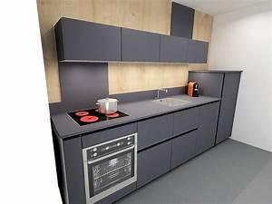 hotte integree dans meuble haut 6 cuisine armony en With hotte integree dans meuble haut