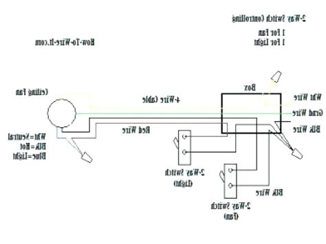 ceiling fan 4 wire capacitor wiring diagram integralbook