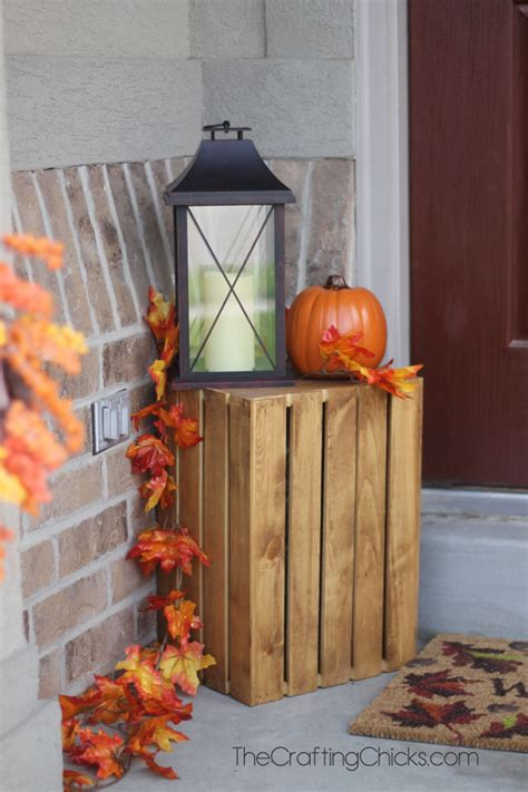 Fall Front Porch Decorations For The Non Crafty