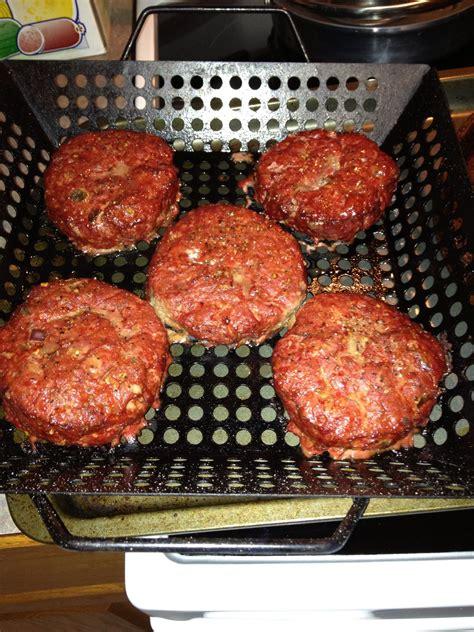 hamburgers traeger recipes food