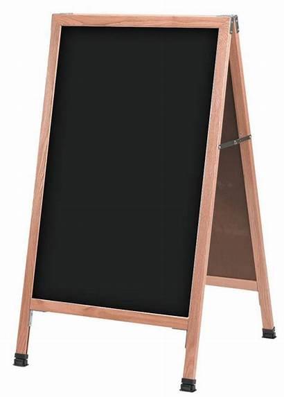 Chalkboard Frame Board Chalk Signs Sandwich Write