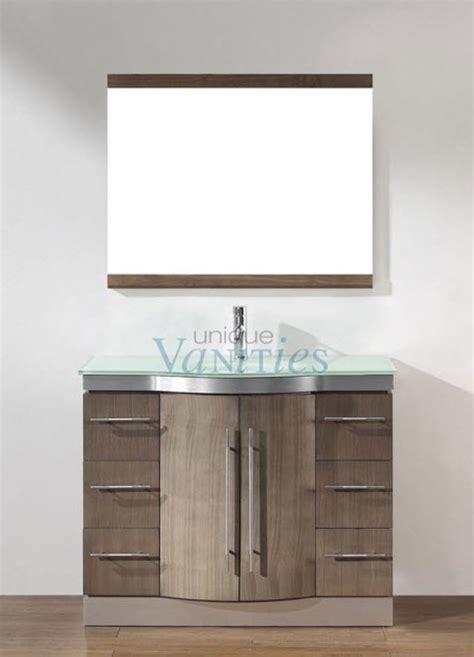 ash single sink bathroom vanity custom options