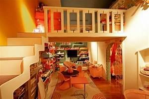Farben Für Kinderzimmer : bett design 24 super ideen f r kinderzimmer innenarchitektur ~ Frokenaadalensverden.com Haus und Dekorationen