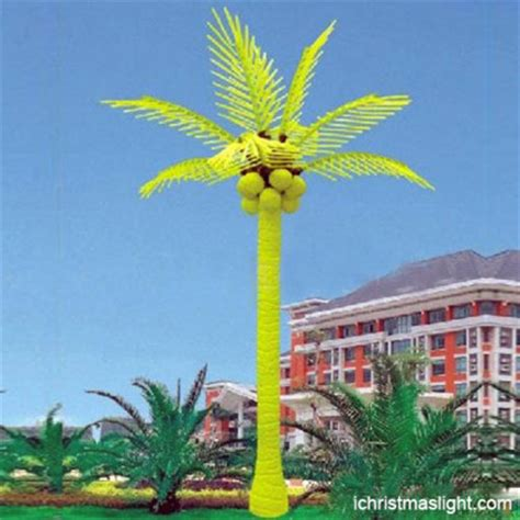 light up palm tree outdoor led palm tree manufacturer in china ichristmaslight
