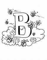 Bee Coloring Pages Bees Printable Printables Print Colouring Bumble Bambi Preschool Honey Bumblebee Sheets Letter Abc Books Maya Activities Toddler sketch template