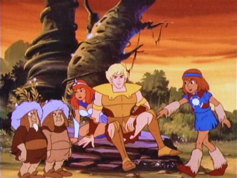 Galtar And The Golden Lance / Hanna-barbera 1985 • The