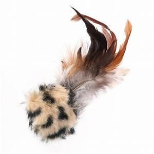 Balle Pour Chat : balle sonore avec plunes jouet pour chat zooplus ~ Teatrodelosmanantiales.com Idées de Décoration
