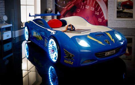 Viper Race Car Bed  Blue  Car Bed Shop  Kids Bed Shop