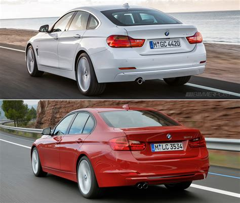 Comparo Bmw 4 Series Gran Coupe Vs 3 Series Sedan (f30