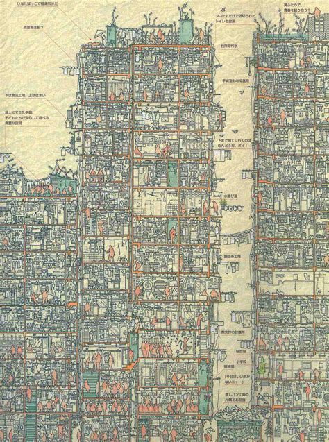 An Illustrated Cross Section of Hong Kong's Infamous