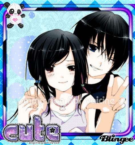 anime couple dark black hair anime couple picture 90408121 blingee com