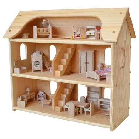 seris dollhouse wooden doll houses