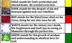 gospel story  colors colors  salvation