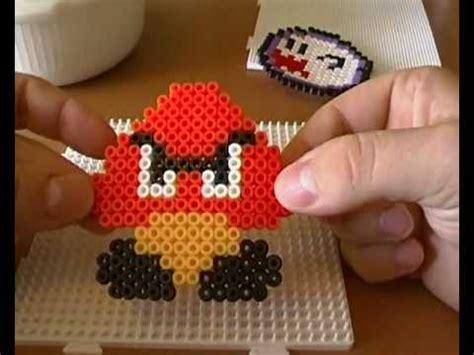videospielfiguren basteln mit buegelperlen youtube