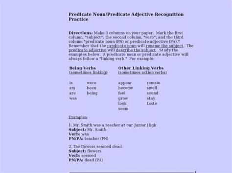 Adjectives Practice 7th Grade  Adjectives Worksheet 2 Underline The Tlsbooksadjective Lessons