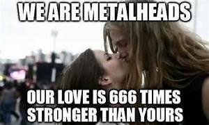 Metalhead couple | Metal meme, Metalhead, Death metal