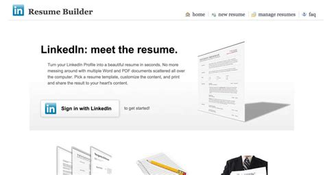 Linkedin Resume Builder Add Projects by Yevgeniy Brikman Projects
