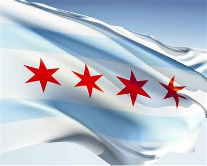 Flag Chicago Desktop Phone Chicagos Wallpapersin4k