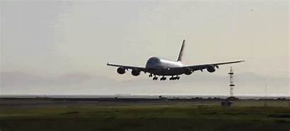 Airbus A380 Landing Abort Ground Incredibly Close