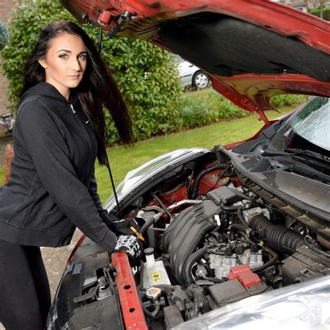 Female Mechanic Swaps Greasy Overalls To Pursue Career As A Model | real fix