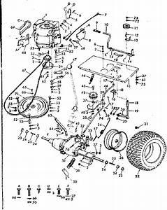 30 Craftsman Riding Mower Belt Diagram