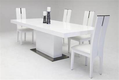 Dining Table Modern Extendable Zenith Gloss Tables