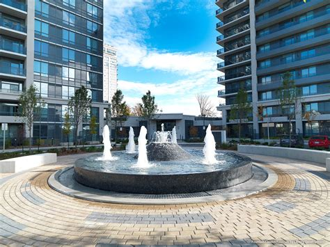 thornhill city centre fountain condos liberty development