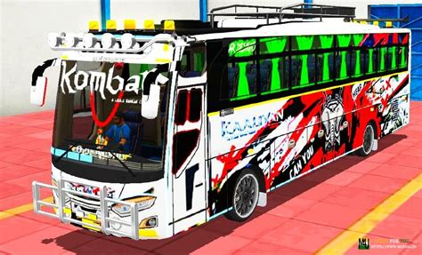 Now open bus simulator indonesia game(bussid) and goto mod. Komban Bus Skin Download For Bus Simulator - Komban Bus Livery Download Hd Livery Bus / Jet bus ...