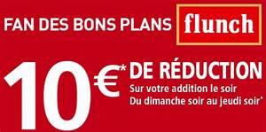 Bon De Reduction Lustucru : flunch 10 euros de r duction repas du soir maximum chantillons ~ Maxctalentgroup.com Avis de Voitures