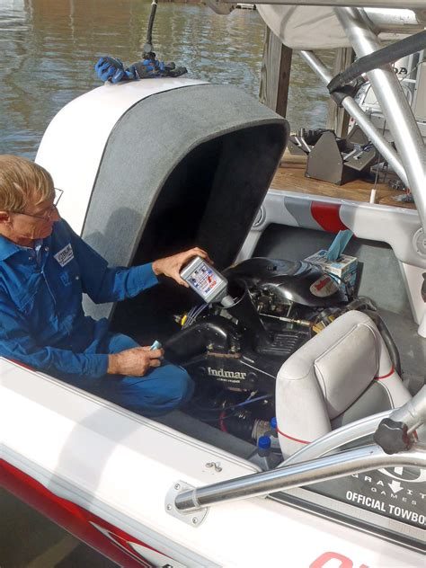 Moomba Boat Winterize by Sterling Aero Marine Services Winterization Repair