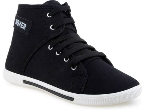 Comfort Boxer Black Casual Shoes For Men