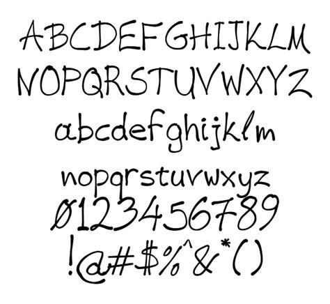 handwriting fonts  hand writing