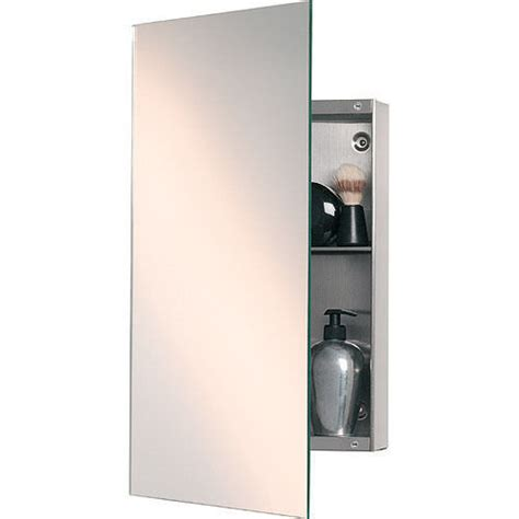 Silver Bathroom Cabinet by Stainless Steel Silver Bathroom Mirror Cabinet Rs 950