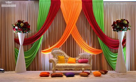 indian wedding stage decoration idea oosile