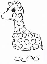 Adopt Giraffe Coloring Pages Printable sketch template